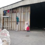 Ponçage du Hangar AVT